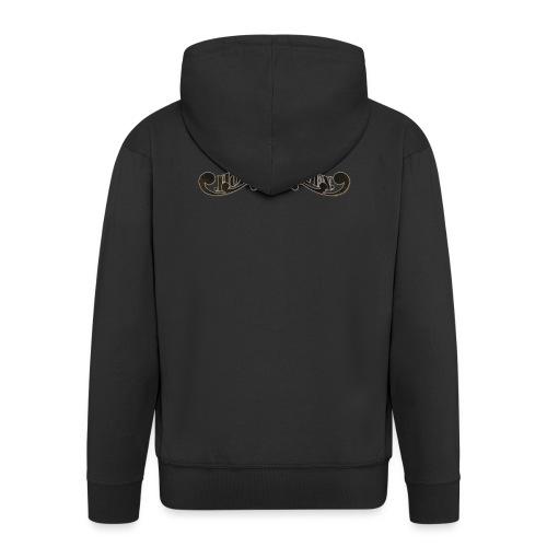 HOVEN DROVEN - Logo - Men's Premium Hooded Jacket