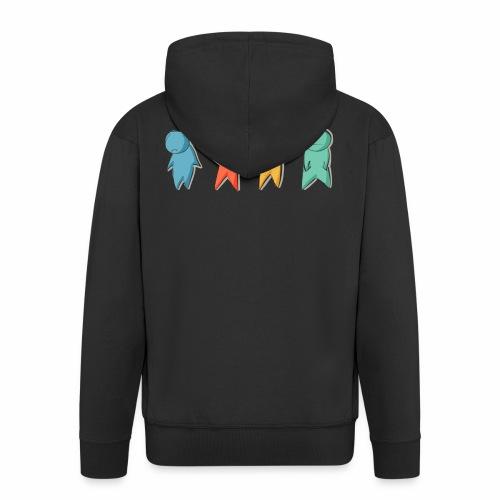 4 Feelings - Men's Premium Hooded Jacket