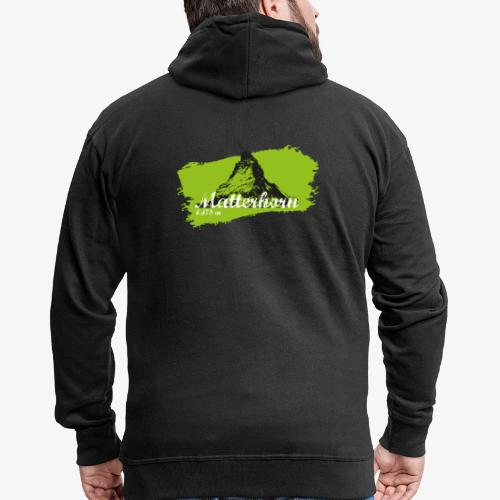 Matterhorn - Matterhorn in green - Men's Premium Hooded Jacket