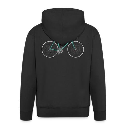 Rennrad für Hipster - Männer Premium Kapuzenjacke