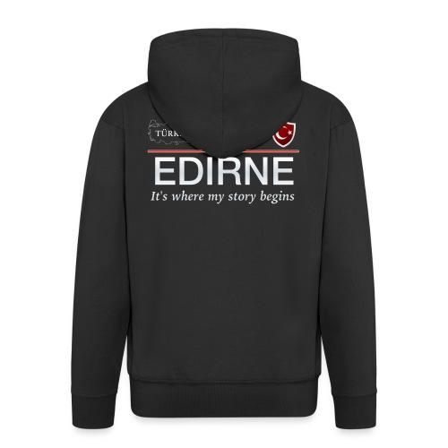 Edirne - Männer Premium Kapuzenjacke