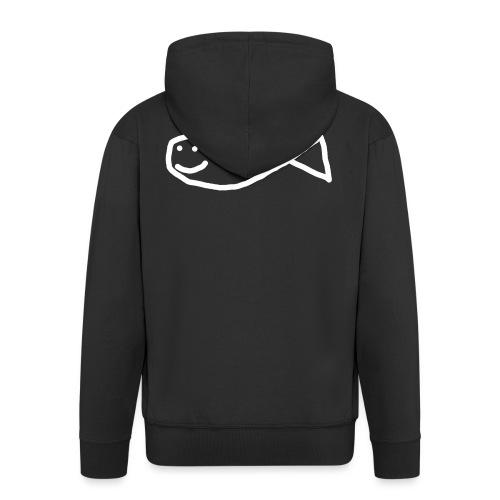 Klassisk Strandfisk T-Shirt - Premium Hettejakke for menn