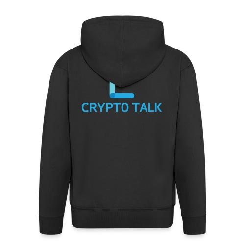 Crypto Talk - Men's Premium Hooded Jacket