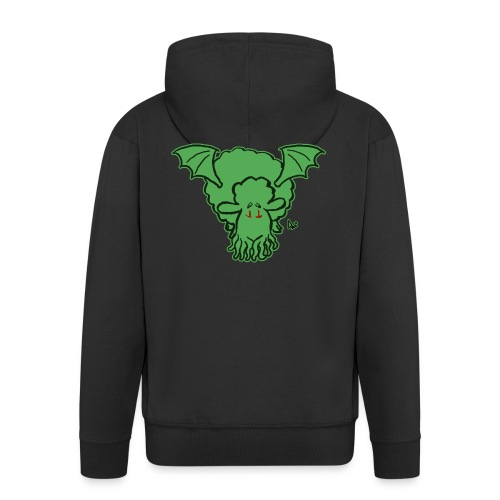 Cthulhu Sheep - Men's Premium Hooded Jacket