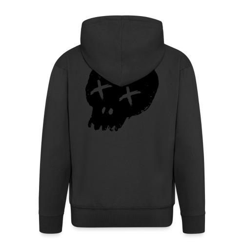 blackskulllogo png - Men's Premium Hooded Jacket