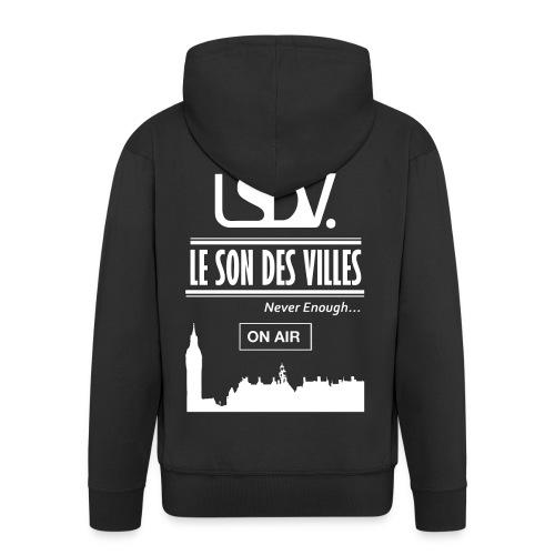 Lesondesvilles _On air LSDV - Veste à capuche Premium Homme