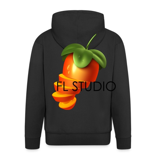 Sliced Sweaty Fruit - Men's Premium Hooded Jacket