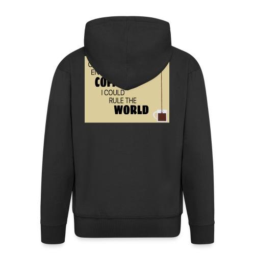 Coffee Champion - Men's Premium Hooded Jacket