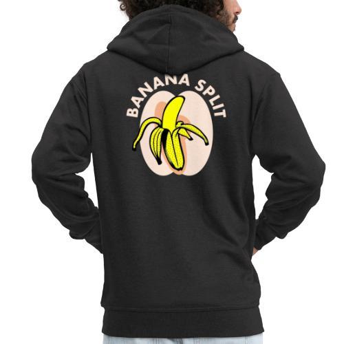 Banane split - Veste à capuche Premium Homme