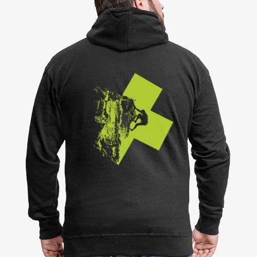 Climbing - Men's Premium Hooded Jacket
