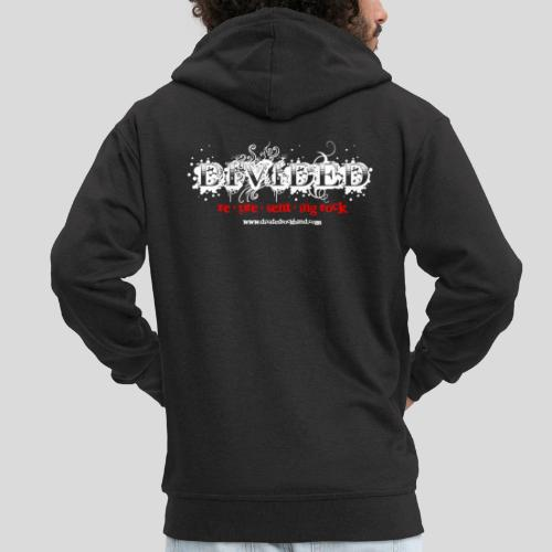 Divided re*pre*sent*ing rock - Männer Premium Kapuzenjacke
