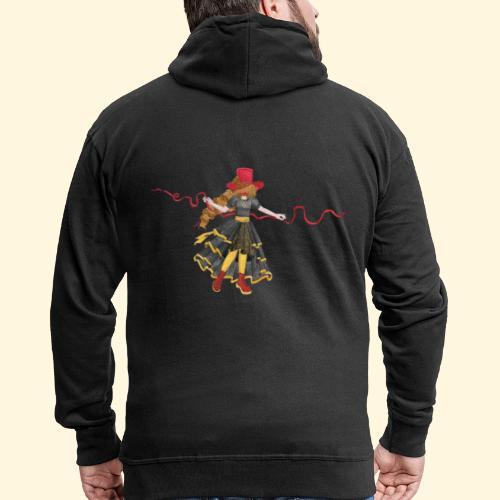 Ladybird - La célèbre uchronaute - Veste à capuche Premium Homme