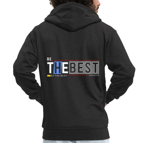 Be the best - Männer Premium Kapuzenjacke