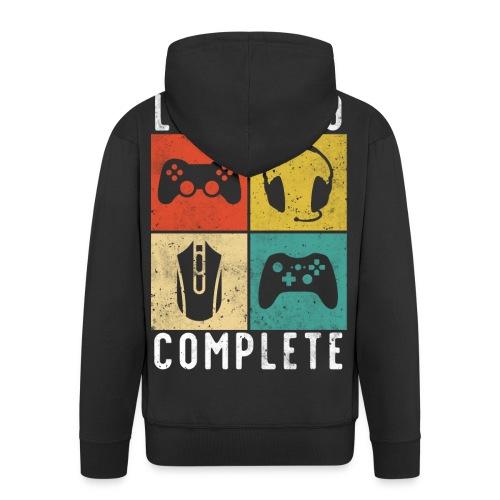 30. Geburtstag Level Complete Gaming - Männer Premium Kapuzenjacke