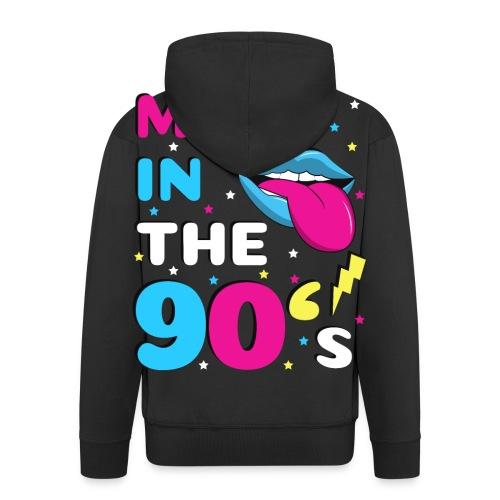 90er Jahre Party Feiern Mottoparty 90s - Männer Premium Kapuzenjacke