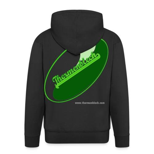 Thermenblech gif - Männer Premium Kapuzenjacke