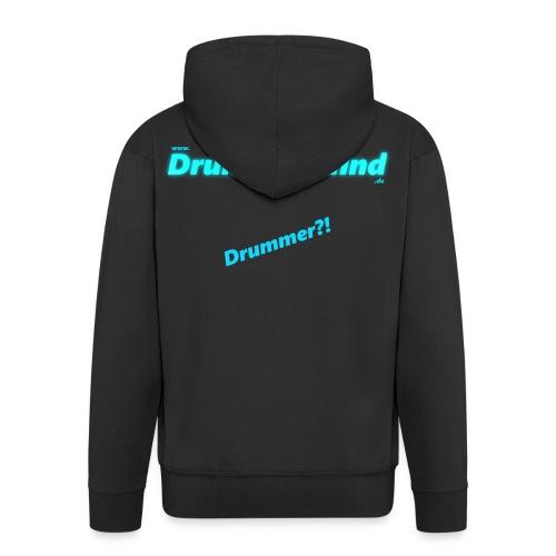 Disin drumsofmind png - Männer Premium Kapuzenjacke