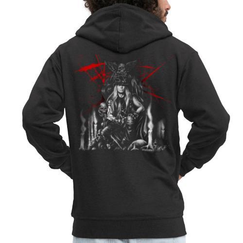 Lazy X - Iconic Soul - Men's Premium Hooded Jacket