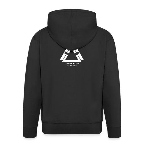 Young Slice logo - Männer Premium Kapuzenjacke
