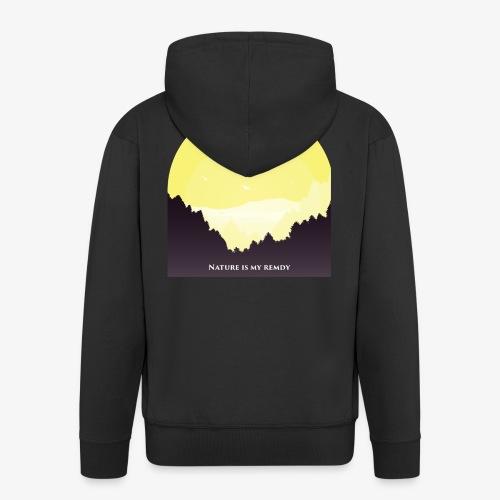 natureismyremedy - Men's Premium Hooded Jacket