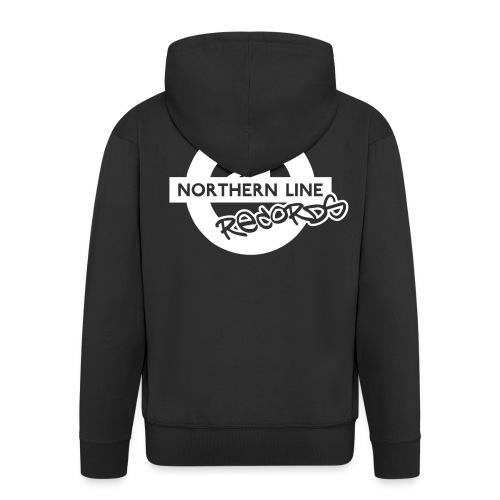 LARGE NLR LOGO - Men's Premium Hooded Jacket