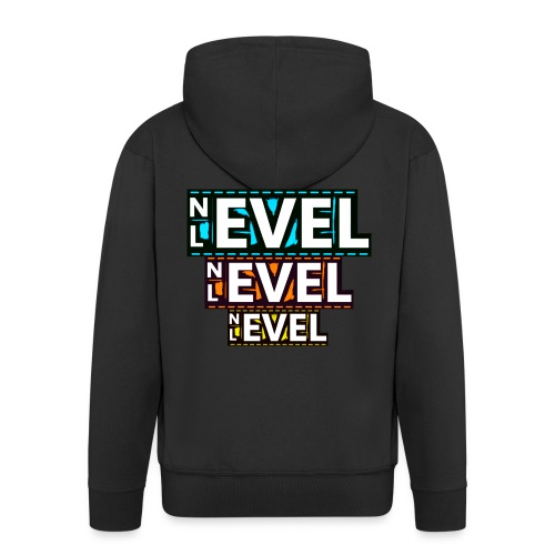Nevel Level 3 colours - Men's Premium Hooded Jacket