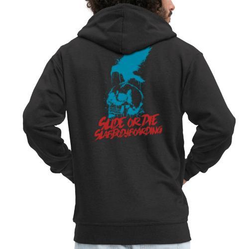 Slide or Die - Men's Premium Hooded Jacket