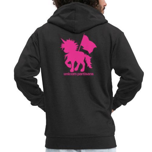 unicorn partisans - Men's Premium Hooded Jacket