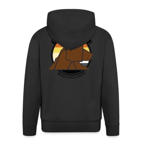 Logo 1 GRRRNOBLE BEAR ASSOCIATION - Veste à capuche Premium Homme