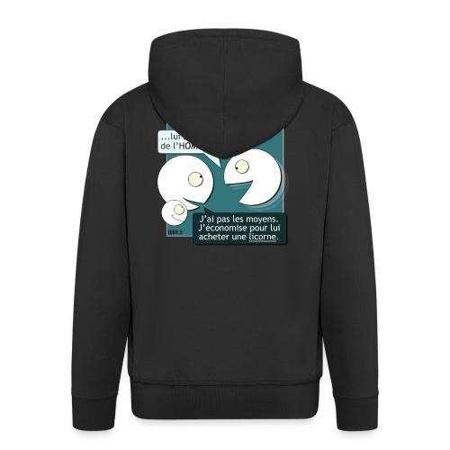 Conseils & homéopathie - Veste à capuche Premium Homme