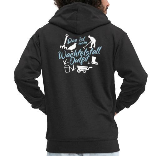 Wachtelstall-Outfit / Wachteln Geschenkidee Design - Männer Premium Kapuzenjacke