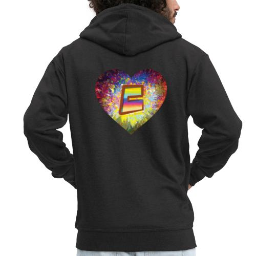 Be a 70th Heart with that special Popper Hippie B - Men's Premium Hooded Jacket