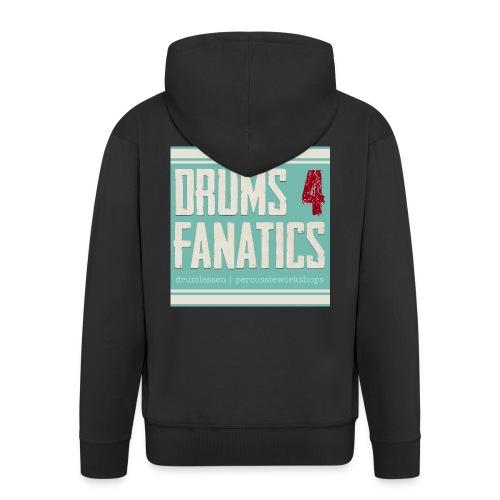 Drums for fanatics 4kant jpg - Mannenjack Premium met capuchon