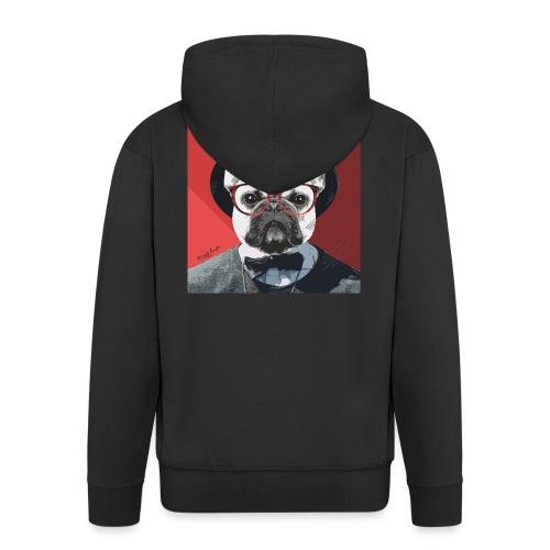 French Bulldog Artwork 2 - Männer Premium Kapuzenjacke