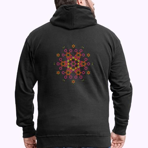 Mandala Nube - Chaqueta con capucha premium hombre