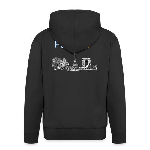 Paris france - Veste à capuche Premium Homme