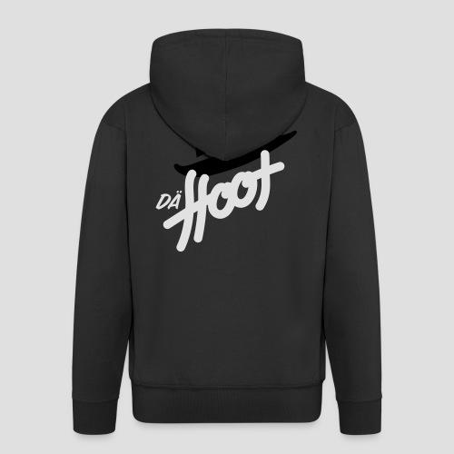 daeHoot_Shirt_Logo2_2c - Männer Premium Kapuzenjacke