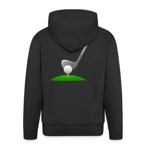 Golf Ball PNG - Chaqueta con capucha premium hombre