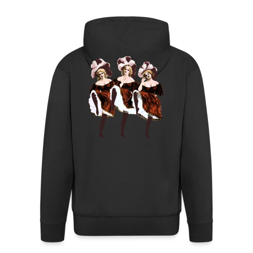 Vintage Dancers - Men's Premium Hooded Jacket