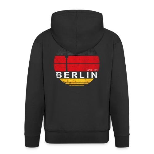 BERLIN, Germany, Deutschland - Men's Premium Hooded Jacket