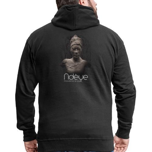 Ndèye - Chaqueta con capucha premium hombre