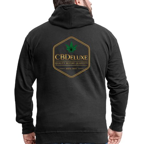 CBDeluxe - Männer Premium Kapuzenjacke