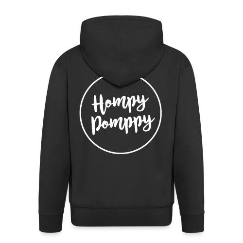 HompyPomppy White Series - Chaqueta con capucha premium hombre