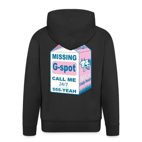 Missing: G-spot - Men's Premium Hooded Jacket