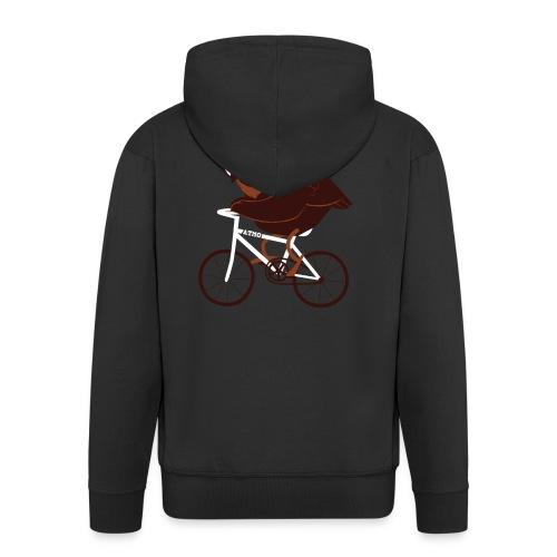 Cycling Owl - Männer Premium Kapuzenjacke