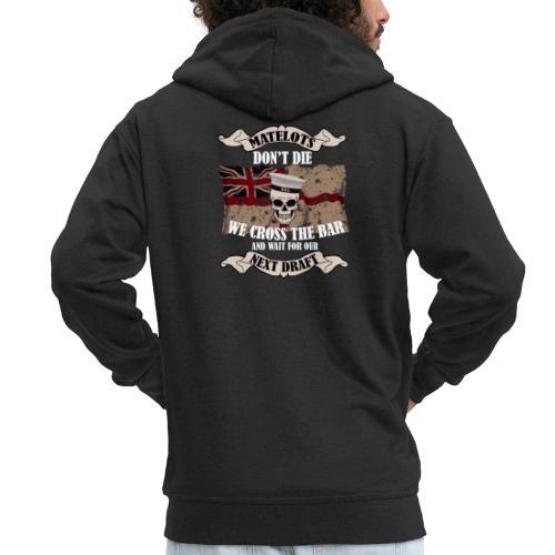 Cross the Bar - Men's Premium Hooded Jacket