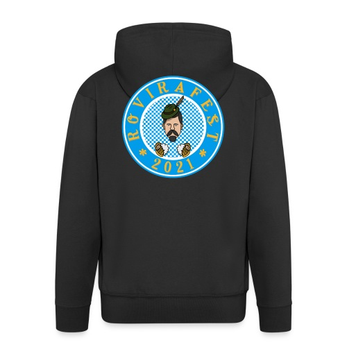 RoviraFest - Chaqueta con capucha premium hombre