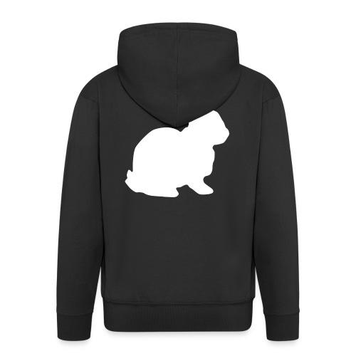 Follow the white rabbit. - Männer Premium Kapuzenjacke