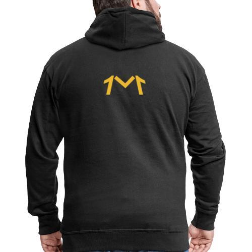 1M, LE LOGO DE L'UNIVERS - Veste à capuche Premium Homme