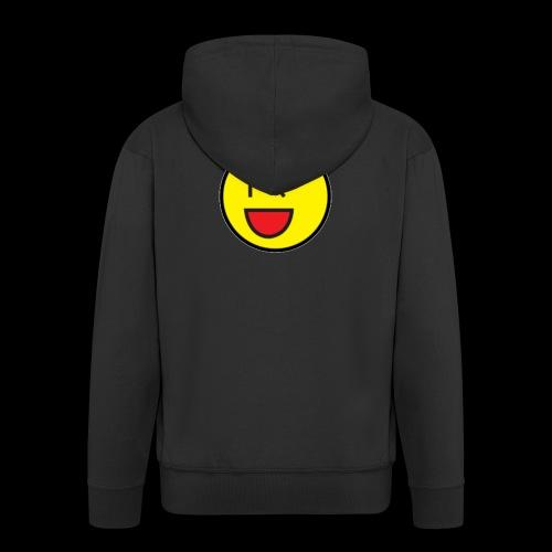 Cool Wink Smiley Hoodie - Men's Premium Hooded Jacket